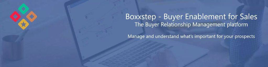 Boxxstep buyer enablement